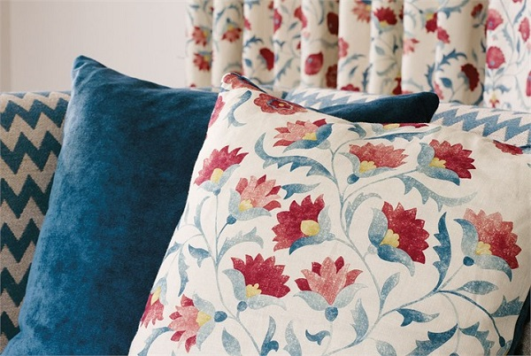 Ottoman Flowers-Cushion