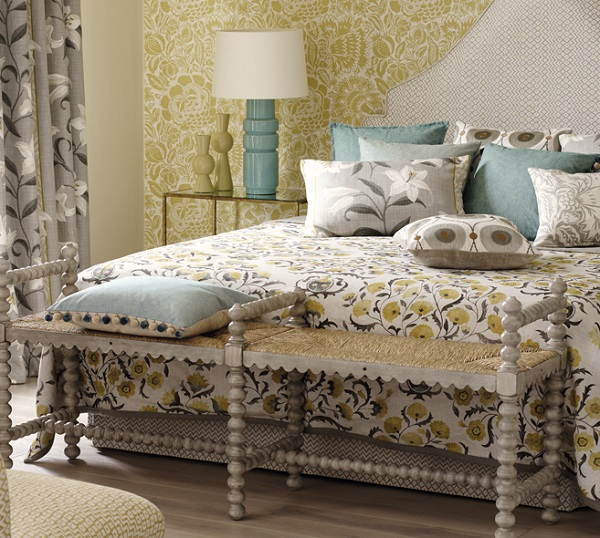Ottoman Flowers-bedcover